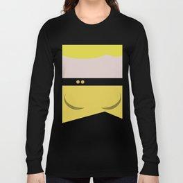 Tasha Yar - Minimalist Star Trek TNG The Next Generation  Lieutenant startrek Trektangles Long Sleeve T-shirt