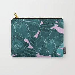 Intrepid Blooms (Emerald) Carry-All Pouch