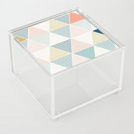 Modern Geometric Acrylic Box