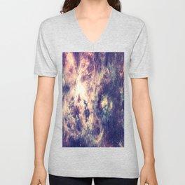 Tarantula Nebula Deep Pastels Unisex V-Neck