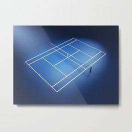 Tennis arena Metal Print