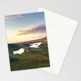 Vanishing Lakes,Ireland,Northern Ireland,Ballycastle Stationery Cards