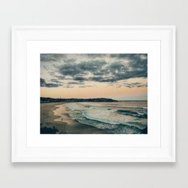 Australian landscapes - Bondi Beach Framed Art Print
