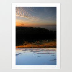 Rivers of Day & Lakes of Night Art Print