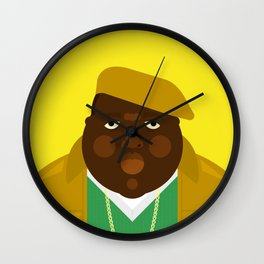 Notorious IV Wall Clock