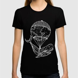 Whale going around th T-shirt