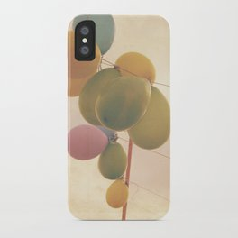 The Vintage Balloons iPhone Case