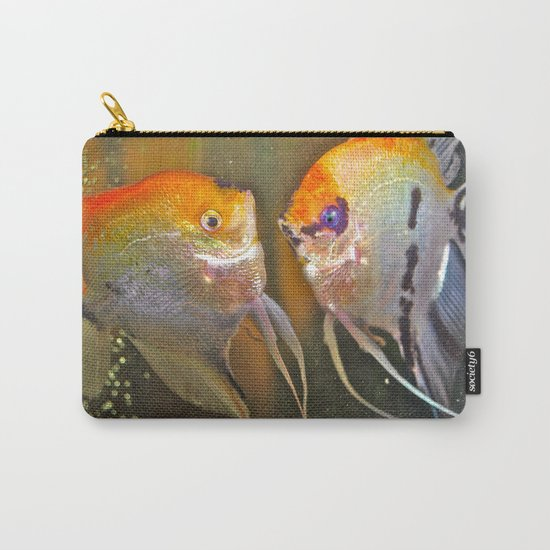 VAL & TINE ANGELS Carry-All Pouch