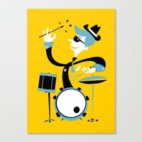 drums Canvas Prints featuring Drums by Arthur Porto