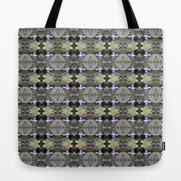 Peekamoose Waterfall Rocks Pattern Tote Bag