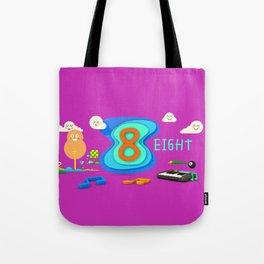 Number eight - Kids Art Tote Bag