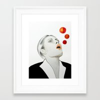funky Framed Art Prints featuring Funky by Christine Kurz