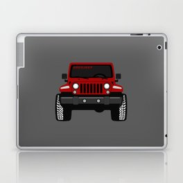 Simply RED Laptop & iPad Skin