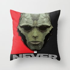 NEVER FORGET - Thane Krios - Mass Effect Throw Pillow