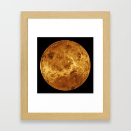 Venus close up Framed Art Print