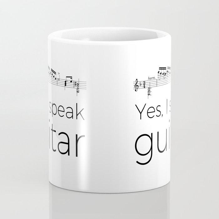 I speak guitar Coffee Mug