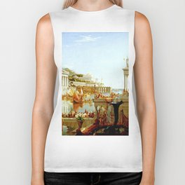 Cole Thomas The Consummation The Course of the Empire Biker Tank