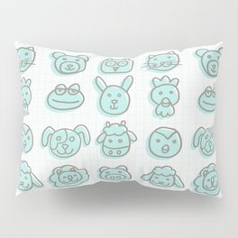 animal cuteness Pillow Sham