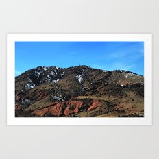 The Rockies Art Print