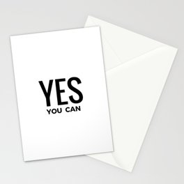 YES YOU CAN Stationery Cards