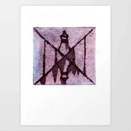 The Madness of Check Mate Art Print