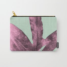 Sepia Fern Purple Carry-All Pouch
