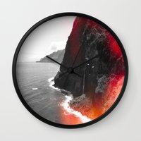 portugal Wall Clocks featuring Madeira Portugal  by Alex Marcano