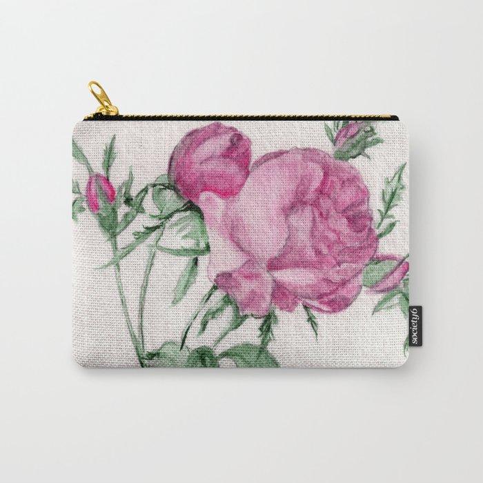 Rosa Centifolia Foliacea Carry-All Pouch