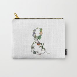 Succulent Ampersand Carry-All Pouch