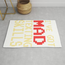 Funny Do You Have The Skills To Survive? People T-Shirt Gift Rug