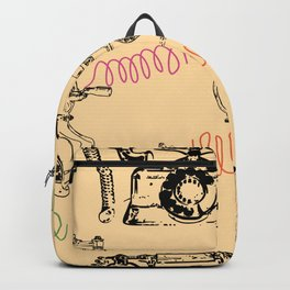 You Should've Called Me Yesterday Backpack