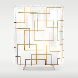 Inverse Perspective Shower Curtain