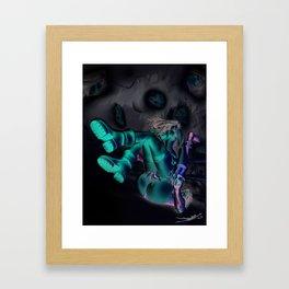 Hot Misty Framed Art Print