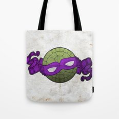 the purple turtle Tote Bag