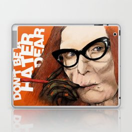 Myrtle Snow || Don't be a hater, dear (from American Horror Story: Coven) Laptop & iPad Skin