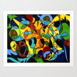 Emotion ~ Prismacolor Pencil Art Art Print