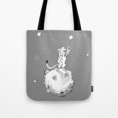 Greeting a Star Tote Bag