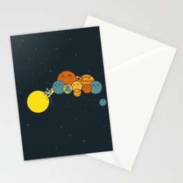 Photo Group Planets Stationery Cards