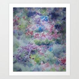Dance Among the Flowers Art Print