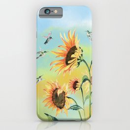 Morning Song  iPhone Case