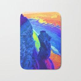 Southerndown body rock rainbow Bath Mat