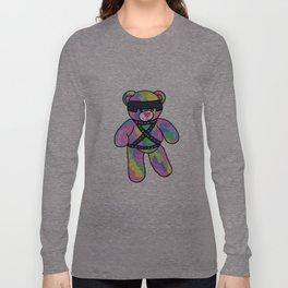 Rainbow Bondage Bear Long Sleeve T-shirt