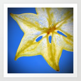 Star Fruit Art Print