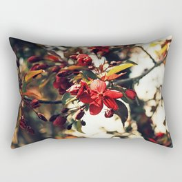 Blooming at night Rectangular Pillow