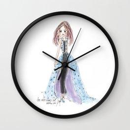 The Holly Nichols Girl Wall Clock