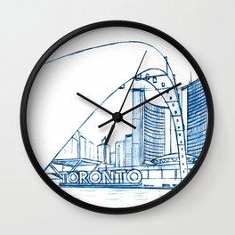 BluePrints | City Hall - Toronto Wall Clock