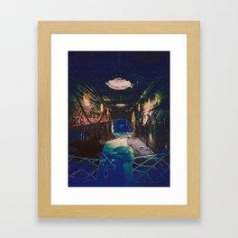 The Inner Chaos Framed Art Print