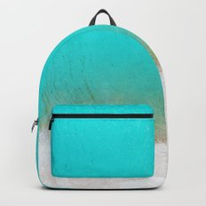 Blue from the top 3 Backpack