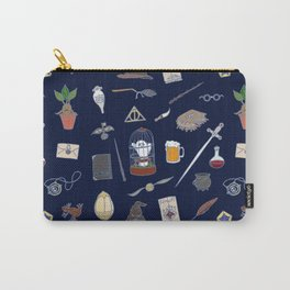 Harry Pattern Night Carry-All Pouch