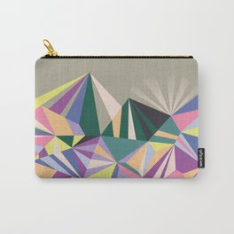 Richly Geometric Carry-All Pouch